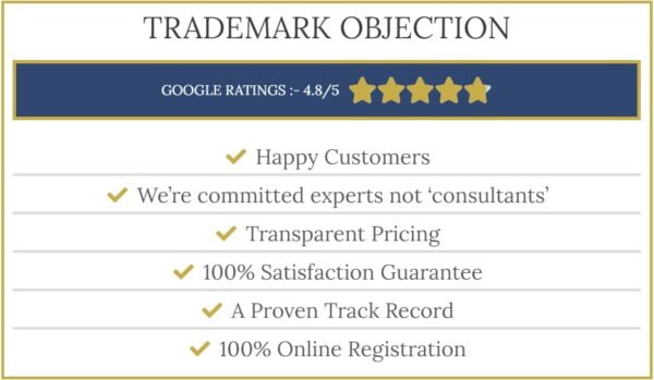 trademark objection image with title