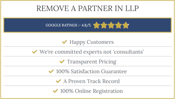 Remove a partner in llp