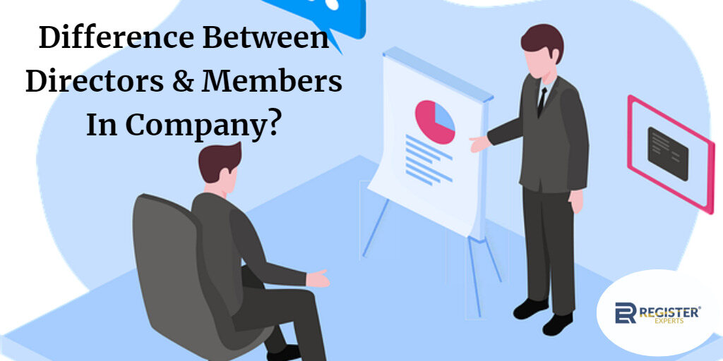 difference between directors and members in company